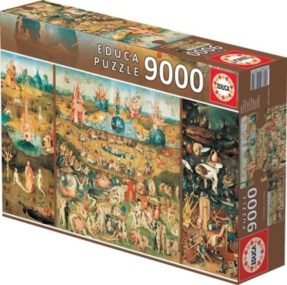 Hieronymus Bosch: The Garden of Earthly Delights - 9000 Teile Educa Puzzle