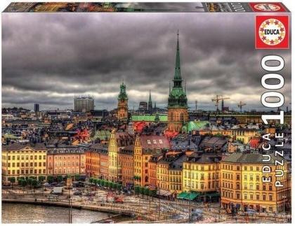 Views of Stockholm - 1000 Teile Educa Puzzle