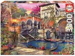Venice Courtship - Educa Puzzle 3000 Teile
