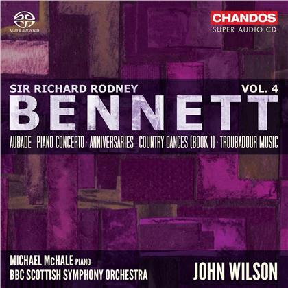 Michael McHale, Sir Richard Rodney Bennett, John Wilson & BBC Scottish Symphony Orchestra - Orchestral Works 4 (Hybrid SACD)