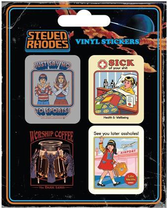 Steven Rhodes Collection - Vinyl Sticker Pack