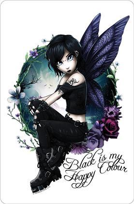 Hexxie Paige - Black Is My Happy Colour - Greet Tin Card