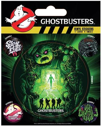 Ghostbusters - Ghosts and Ghouls - Vinyl Sticker Pack