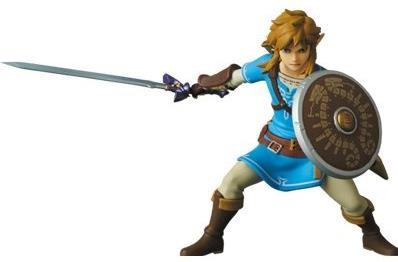 Medicom - Zelda - Udf Link : Breath Of The Wild