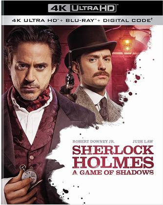 Sherlock Holmes - A Game Of Shadows (2011) (4K Ultra HD + Blu-ray)