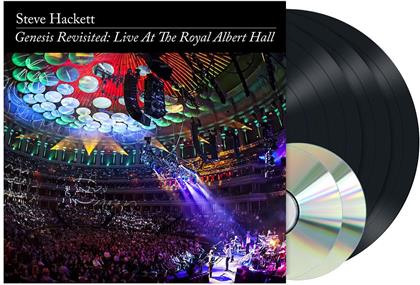 Steve Hackett - Genesis Revisited: Live At The Royal Albert Hall (2020 Reissue, inside Out, Remastered, 3 LPs + 2 CDs)