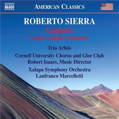 Trio Arbos, Roberto Sierra, Lanfranco Marcelletti & Xalapa Symphony Orchestra - Cantares