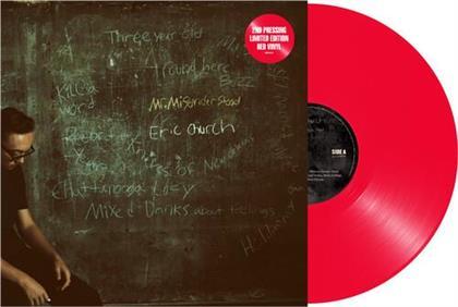 Eric Church - Mr Misunderstood (2020 Reissue, Limited Edition, Red Vinyl, LP)