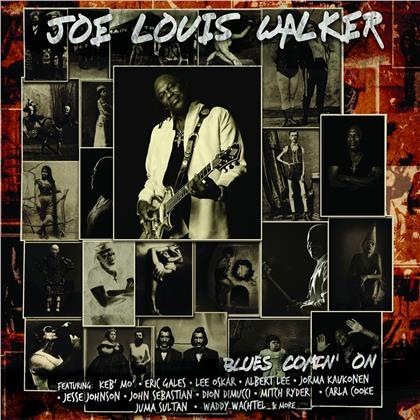 Joe Louis Walker - Blues Comin' On (LP)