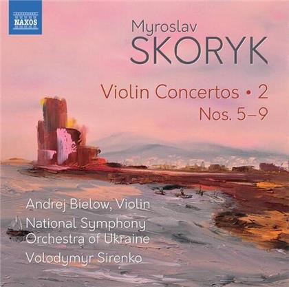 Myroslav Skoryk (*1938), Volodymyr Sirenko, Andrej Bielow & National Symphony Orchestra of the Ukraine - Violin Concertos 2