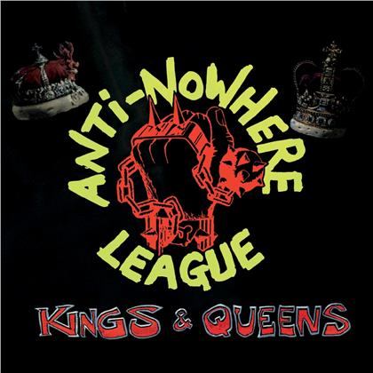 Anti Nowhere League - Kings & Queens (2020 Reissue, Cleopatra, Limited Edition, Red Vinyl, LP)
