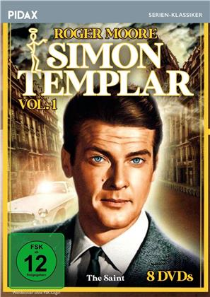Simon Templar - Vol. 1 (Pidax Serien-Klassiker, s/w, 8 DVDs)