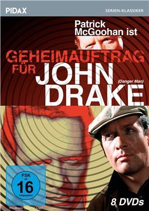 Geheimauftrag für John Drake - Staffel 1 (Pidax Serien-Klassiker, s/w, 8 DVDs)
