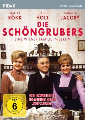 Die Schöngrubers - Eine Wiener Familie in Berlin - Die komplette Serie (Pidax Serien-Klassiker, 2 DVDs)