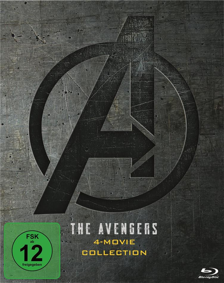 The Avengers - 4-Movie Collection (4 Blu-rays)