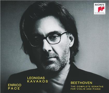 Leonidas Kavakos & Enrico Pace - Die kompletten Violinsonaten (3 CDs)