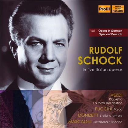 Rudolf Schock & Gaetano Donizetti (1797-1848) - Five Italian Operas 1 (11 CDs)