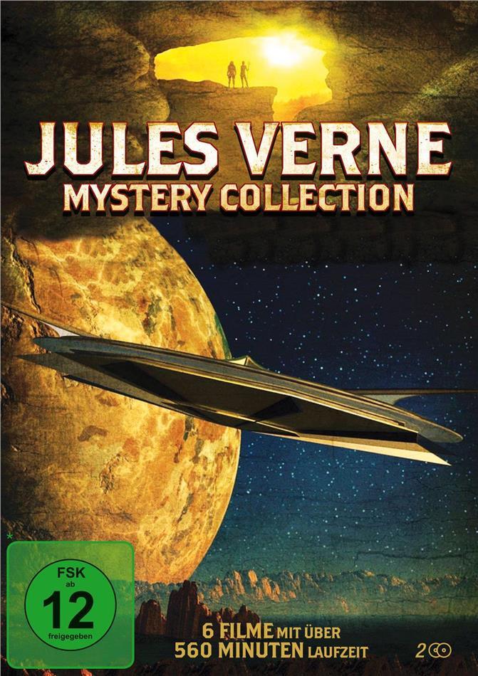 Jules Verne Mystery Collection - 6 Filme (2 DVDs)
