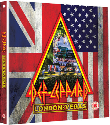Def Leppard - London to Vegas (+ 4 CDs) [2 DVDs] (Deluxe Edition, Limited Edition)