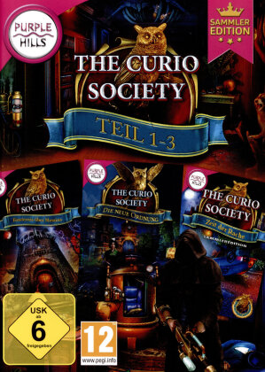The Curio Society 1-3 (Sammler Edition)