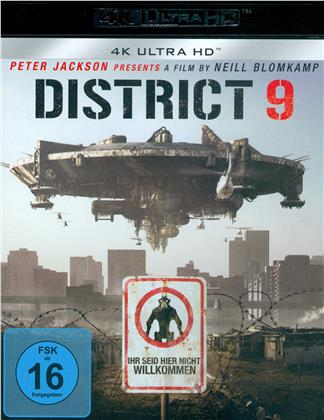 District 9 (2009) (4K Ultra HD + Blu-ray)