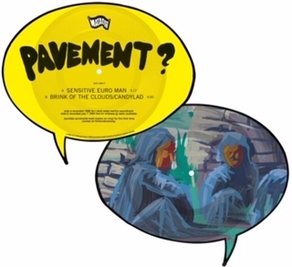 "Pavement - Sensitive Euro Man (Limited Edition, Shaped Picture Disc, 7"" Single)"
