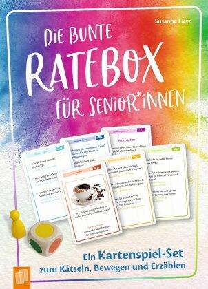 Die bunte Ratebox für Senioren und Seniorinnen