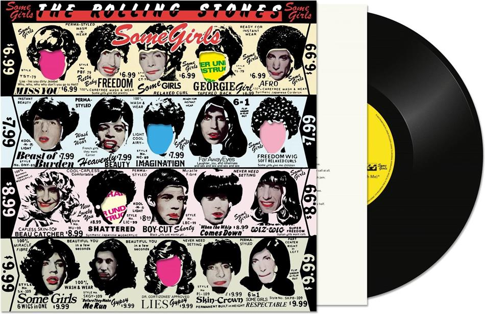 The Rolling Stones - Some Girls (2020 Reissue, Half Speed Master, Universal, LP)