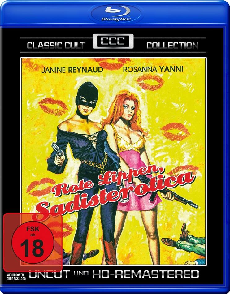 Rote Lippen, Sadisterotica (1969) (Classic Cult Collection, HD-Remastered, Uncut)