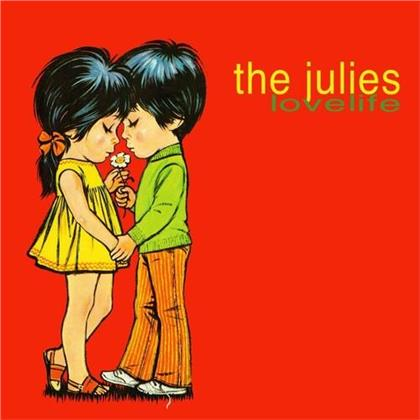 The Julies - Lovelife (2020 Reissue, Lost In Ohio, Limited Edition, Remastered, Red Vinyl, LP)