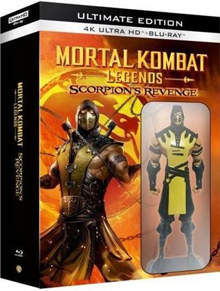 Mortal Kombat Legends - Scorpion's Revenge (2020) (+ Figurine, 4K Ultra HD + Blu-ray)