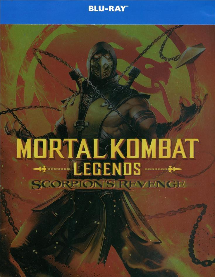 Mortal Kombat Legends - Scorpion's Revenge (2020) (Limited Edition, Steelbook)