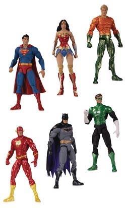 DC Collectibles - DC Essentials: Justice League Action Figure 6 Pack