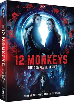12 Monkeys - The Complete Series - Seasons 1-4