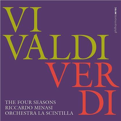 Riccardo Minasi, Antonio Vivaldi (1678-1741), Giuseppe Verdi (1813-1901) & Orchestra La Scintilla - Four Seasons