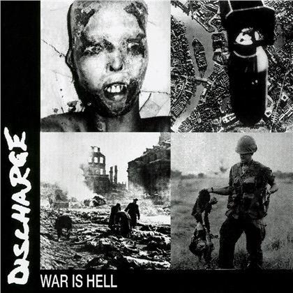 Discharge - War Is Hell (2020 Reissue, Limited, Cleopatra, Blue Vinyl, LP)