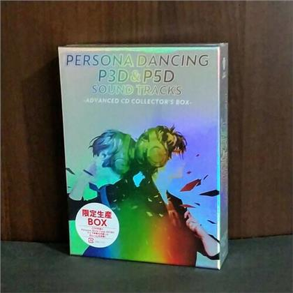 Persona Dancing P3d & P5d - OST Videogame (Japan Edition, CD + Blu-ray)
