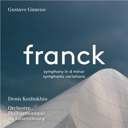 César Franck (1822-1890), Gustavo Gimeno, Denis Kozhukhin & Orchestre Philharmonique du Luxembourg - Symphony (Hybrid SACD)