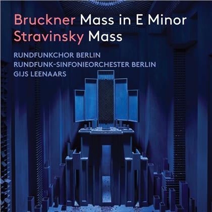 Rundfunkchor Berlin, Anton Bruckner (1824-1896), Igor Strawinsky (1882-1971), Gijs Leenaars & Rundfunk-Sinfonie Orchester Berlin - Mass E Minor, Mass