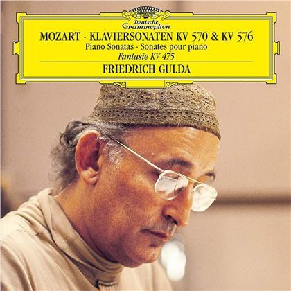 Wolfgang Amadeus Mozart (1756-1791) & Friedrich Gulda (1930-2000) - Piano Sonatas - Klaviersonaten (LP)