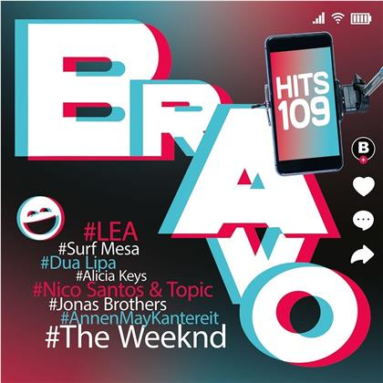 Bravo Hits Vol. 109 (Swiss Edition, 2 CDs)