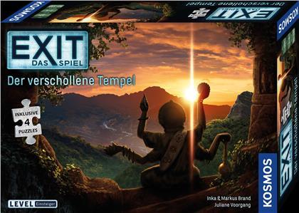 Der verschollene Tempel - EXIT Das Spiel + 4 Puzzles (Level: Einsteiger)