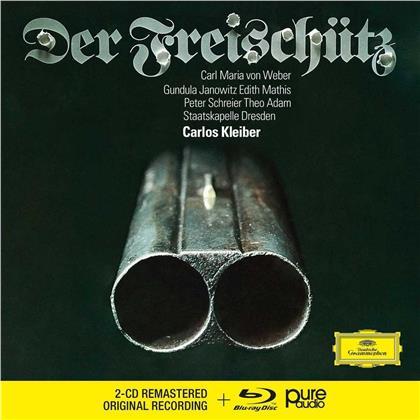 Carl Maria von Weber (1786-1826), Carlos Kleiber & Staatskapelle Dresden - Der Freischütz (2 CDs + Blu-ray)