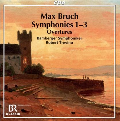 Max Bruch (1838-1920), Robert Trevino & Bamberger Symphoniker - Symphonies 1-3 (2 CDs)
