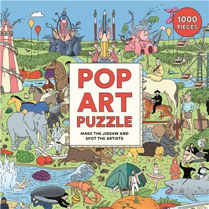 Where's Warhol? - Pop Art Puzzle 1000 Pieces