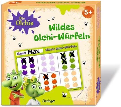 Die Olchis Wildes Olchi-Würfeln
