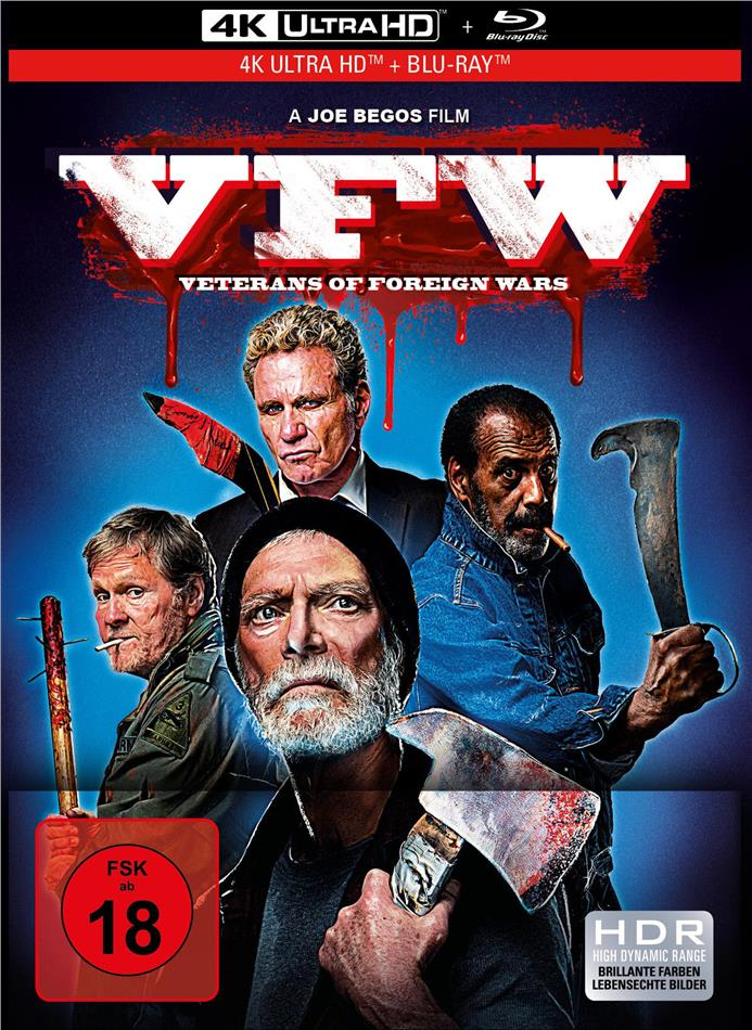 VFW - Veterans of Foreign Wars (2019) (Limited Collector's Edition, Mediabook, 4K Ultra HD + Blu-ray)