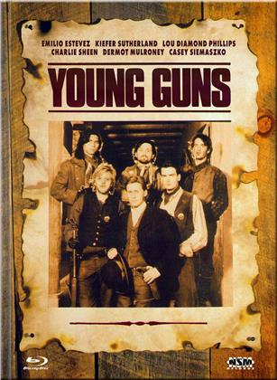 Young Guns (1988) (Cover D, Limited Edition, Mediabook, Blu-ray + DVD)