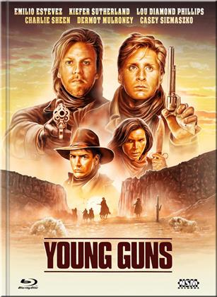 Young Guns (1988) (Cover E, Limited Edition, Mediabook, Blu-ray + DVD)