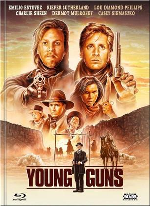 Young Guns (1988) (Cover F, Limited Edition, Mediabook, Blu-ray + DVD)